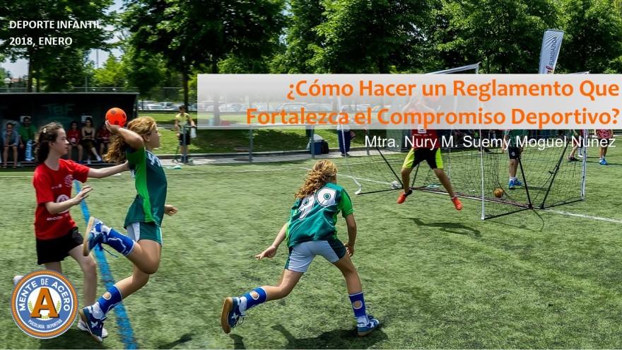 Cómo hacer un reglamento que fortaleza el compromiso deportivo