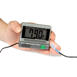 Thermometer&hand